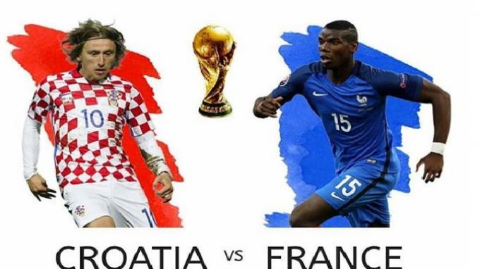 Survei Final Piala Dunia 2018, Juaranya Prancis atau Kroasia?