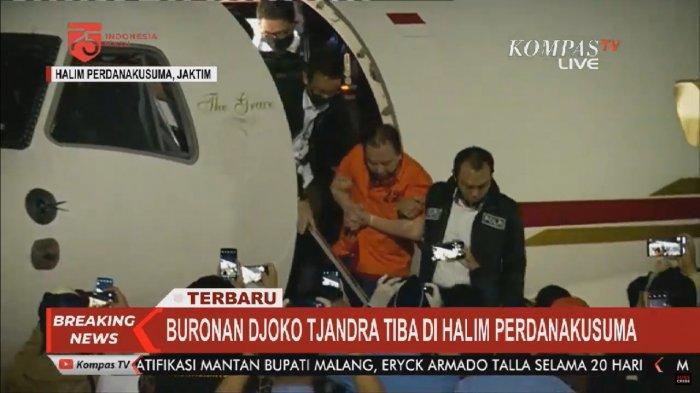 KRONOLOGI Lengkap Penangkapan Djoko Tjandra di Malaysia, Tiba Gunakan Pesawat Khusus