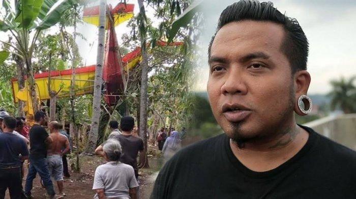 Usai Pesawatnya Jatuh dan Tersangkut Pohon, Erix Soekamti Unggah Story yang Tunjukkan Keadaannya