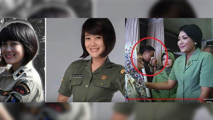Mengenal Sertu Rizka, Anggota TNI Cantik yang Tumor Otak, Menangis Dipeluk Istri KSAD Andika Perkasa
