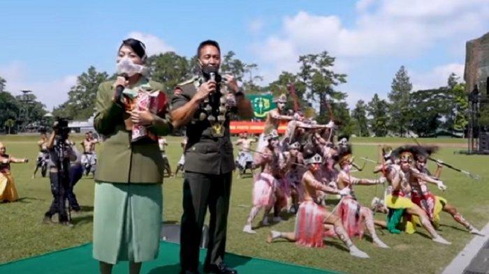 Persembahkan Tarian Anak Negeri, Taruna Akmil Mendapat Hadiah Dari Jenderal Andika dan Istri