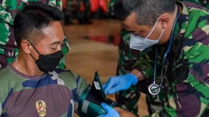 KSAD Yakinkan Jajaran TNI AD Manfaat Vaksinasi Dalam Penanganan Pandemi Covid-19