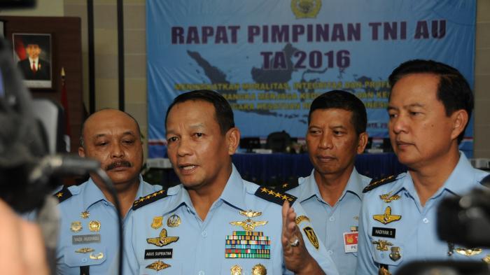 KSAU: Penambahan Kelengkapan Alutsista Jadi Prioritas TNI AU Tahun 2016