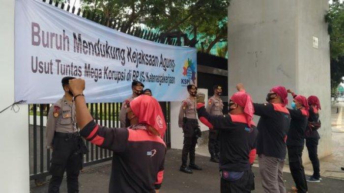 Usut Kasus Korupsi di BPJS Ketengakerjaan, KSPI : Kami Jalan Bersama Kejagung