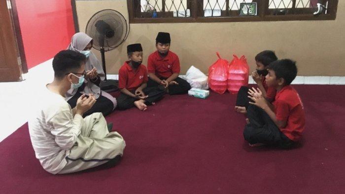 KT&G SangSang Univ. Indonesia Ngabuburit Bersama Anak Yatim di Panti Yatim Indonesia