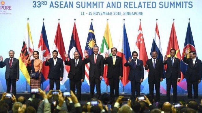 Para Pemimpin ASEAN Bahas Pembangunan Daerah