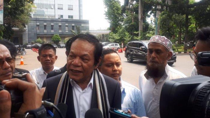 Kuasa hukum Eggi Sudjana, Alamsyah Hanafiah di Polda Metro Jaya Jakarta, Kamis (19/9/2019).
