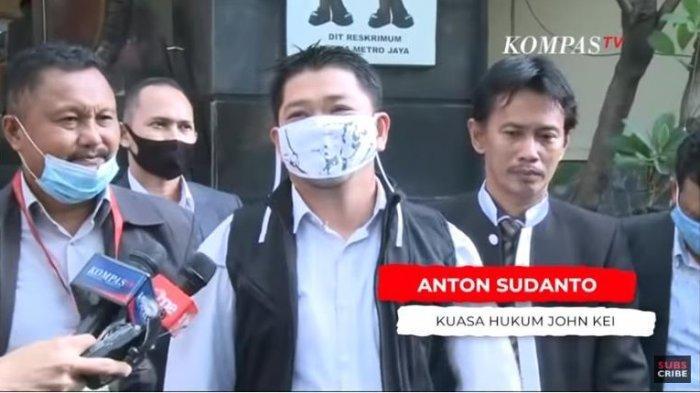 Kuasa Hukum John Kei, Anton Sudanto mengungkapkan kliennya kini tengah mendapatkan cobaan karena memutuskan untuk berubah setelah keluar dari Lapas Nusakambangan.