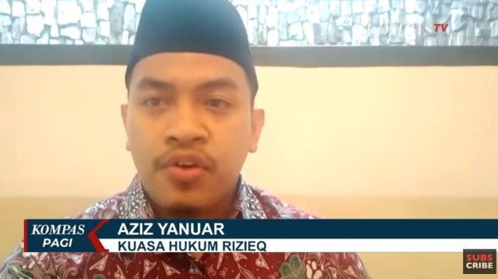 Kuasa hukum Rizieq Shihab, Aziz Yanuar buka suara mengenai pengakuan empat terduga teroris yang menyeret nama Rizieq Shihab untuk melakukan penyerangan.