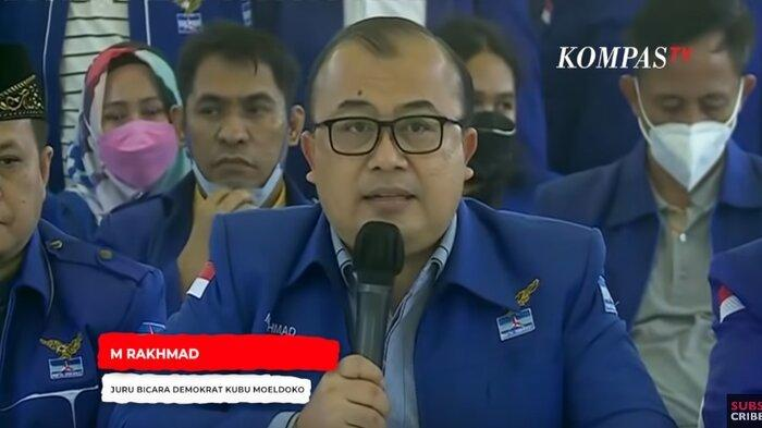 Partai Demokrat Kubu Moeldoko Minta Maaf ke Jokowi dan Rakyat Indonesia atas Kegaduhan yang Terjadi