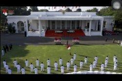 Presiden Kukuhkan Anggota Paskibraka