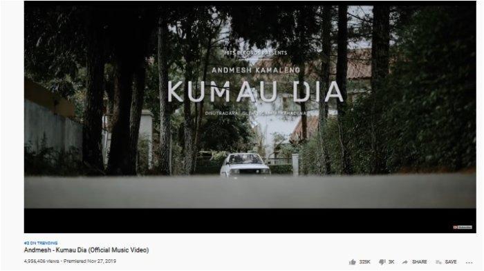 Kumau Dia trending 2 YouTube