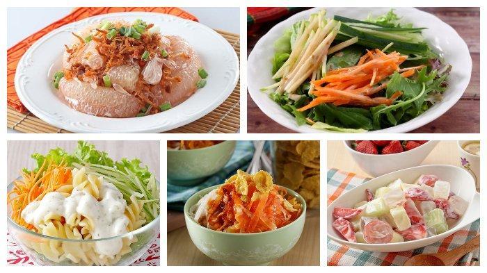 Kumpulan Resep Aneka Salad Sehat, Nikmat, dan Mudah Dibuat, Berikut Cara Membuatnya