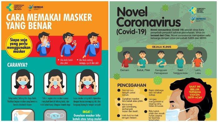 Gambar Kartun Pencegahan Virus Corona Atau Covid 19 Bisa Jadi Materi Edukasi Anak Anak Tribunnews Com Mobile