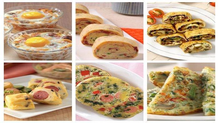 Kumpulan Resep Telur Dadar: dari Telur Gulung Nori hingga Telur Panggang Sayur