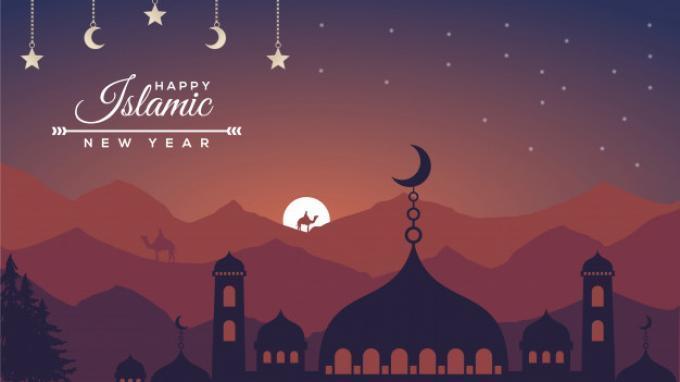 Inilah kumpulan ucapan selamat tahun baru Islam 1 Muharram 1442 H dalam bahasa Indonesia, Inggris, dan gambar. Bagikan di WA.