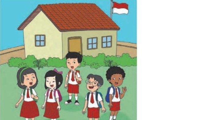 Kunci jawaban Buku Tematik Kelas 1 Subtema 1 Pembelajaran 5 Hal 22