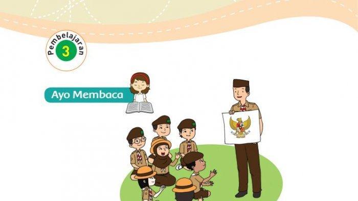 KUNCI JAWABAN Tema 8 Kelas 3 SD Halaman 17 19 20 22 Buku Tematik: Arti Lagu Garuda Indonesia