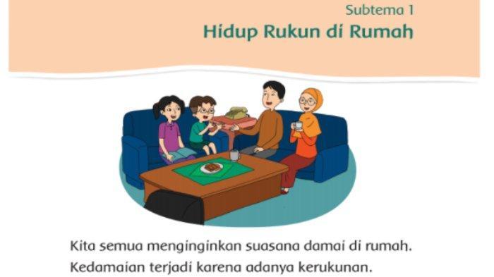 Kunci Jawaban Buku Tematik Sd Kelas 2 Tema 1 Hidup Rukun Subtema 1 Pembelajaran 1 Halaman 3 10 Tribunnews Com Mobile