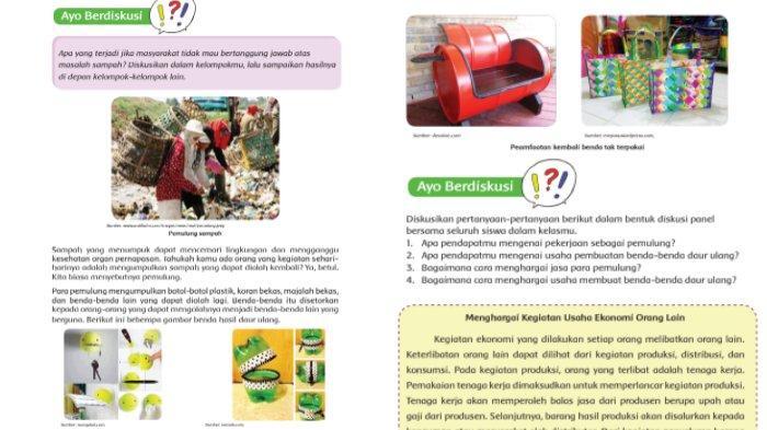 Kunci Jawaban Buku Tematik SD Kelas 5 Tema 2: Subtema 3 Pembelajaran 3 Halaman 105