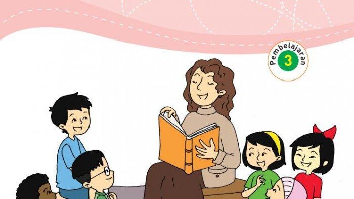 Kunci Jawaban Tema 7 Kelas 3 SD Halaman 22 23 28 Buku Tematik Subtema 1 Pembelajaran 3