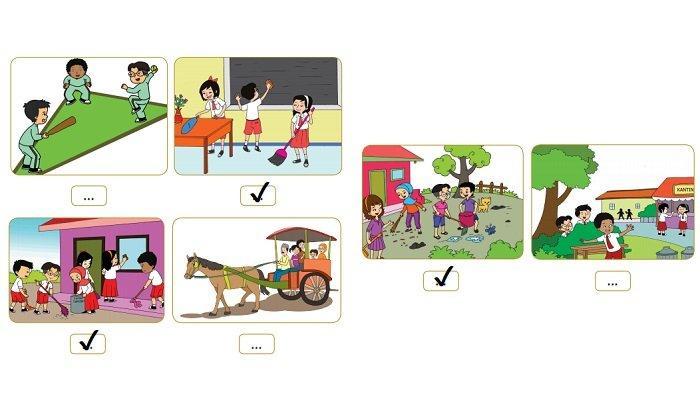 Kunci Jawaban Kelas 2 SD Tema 8 Halaman 154