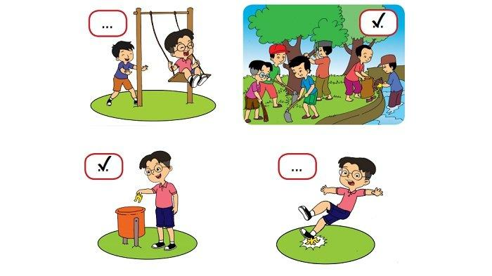 Kunci Jawaban Kelas 2 SD Tema 8 Halaman 173 dan 174