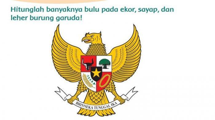 Kunci Jawaban Kelas 3 SD Tema 8 Halaman 28 29 31 Pembelajaran 4: Menghitung Bulu pada Burung Garuda