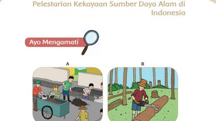 Kunci Jawaban Kelas 4 SD Tema 9 Halaman 100 101 103 104 107 112 Pemanfaatan Alam oleh Manusia
