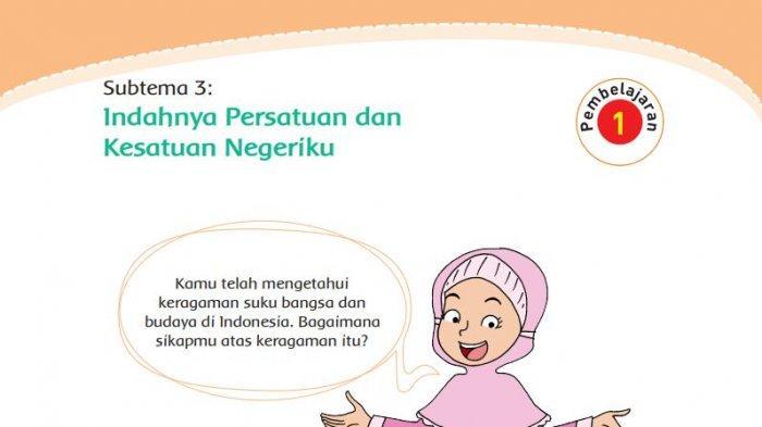 kunci jawaban subtema 3 buku tematik tema 7 kelas 4 sd