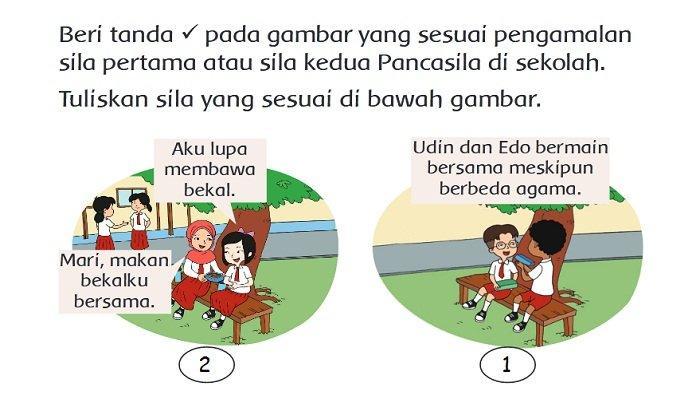 Kunci Jawaban Tema 1 Kelas 2 SD Halaman 111