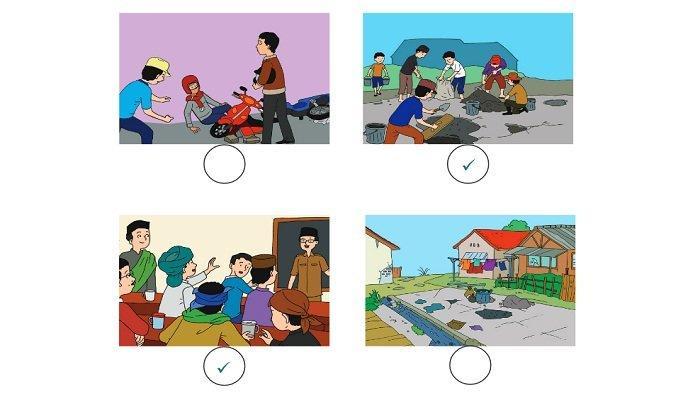 Kunci Jawaban Tema 1 Kelas 2 SD Halaman 141, 143, 144, 147, 148, 150, 151, 153 dan 154 Subtema 4