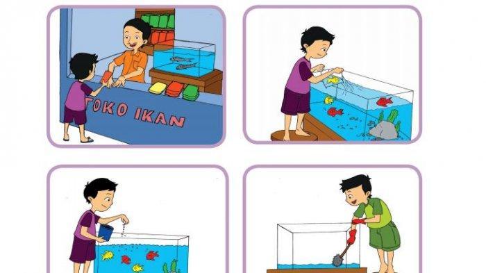 Kunci Jawaban Tema 2 Kelas 3 SD Halaman 183 184 185 186 Pembelajaran 4: Merawat Ikan dan Profesi