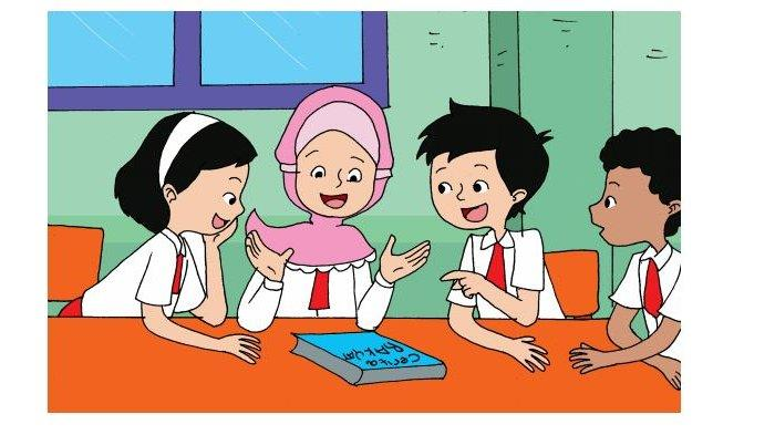Kunci Jawaban Kelas 3 SD Tema 2 Halaman 30 32 Subtema 1 Pembelajaran 4: Bunga Melati yang Baik Hati