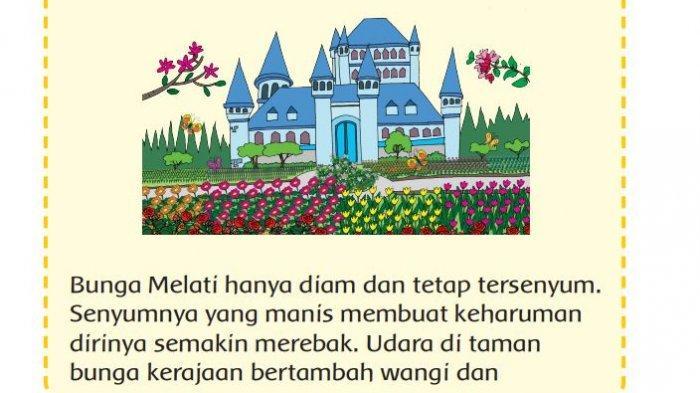 KUNCI Jawaban Tema 2 Kelas 3 SD Halaman 30, 32 Subtema 1 Pembelajaran 4: Bunga Melati yang Baik Hati