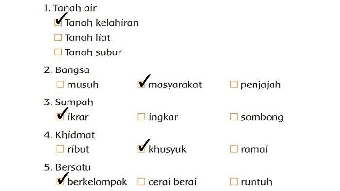 Kunci Jawaban Tema 3 Kelas 2 SD Halaman 136