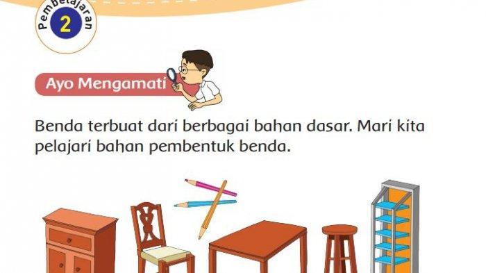 Kunci Jawaban Tema 3 Kelas 3 SD, Halaman 13, 14, 15, 17, 18, Subtema 1 Pembelajaran 2 Buku Tematik