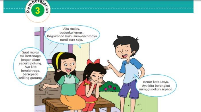 Kunci Jawaban Tema 4 Buku Tematik Kelas 5 SD Halaman 65 67 68 69 71 Subtema 2 Pembelajaran 3