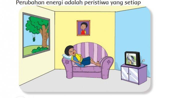 Kunci Jawaban Tema 6 Kelas 3 SD Subtema 2 Pembelajaran 6 Perubahan Energi Halaman 97 98 99 100
