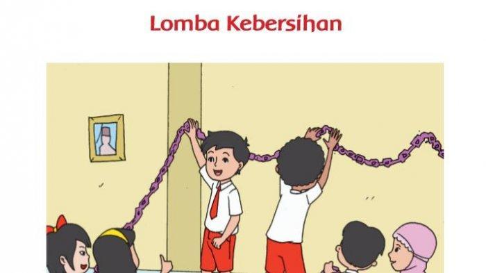 Kunci Jawaban Tema 7 Kelas 2 SD Halaman 108 109 110 Subtema 2 Pembelajaran 6 Kebersamaan di Sekolah