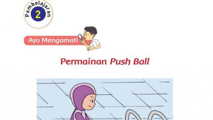 Kunci Jawaban Kelas 2 Tema 7 Halaman 125 126 127 128 129 130 131 Pembelajaran 2 Permainan Push Ball