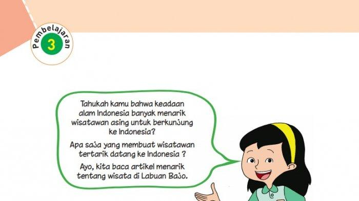 KUNCI JAWABAN Tema 8 Kelas 6 SD Halaman 108 109 110 Buku Tematik Pembelajaran 3