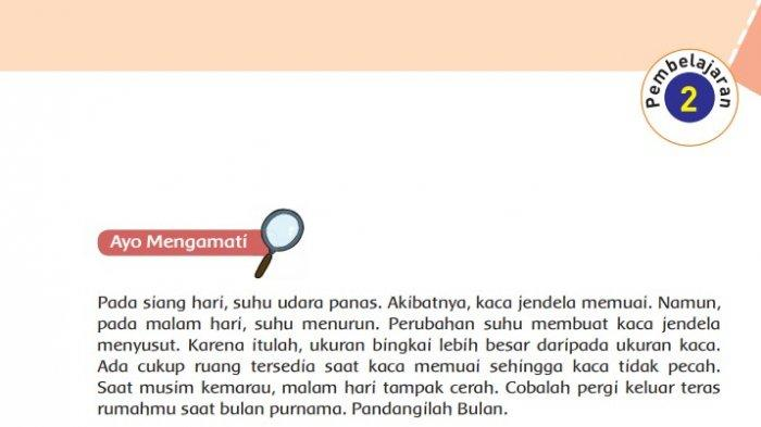 KUNCI JAWABAN Tema 8 Kelas 6 SD Halaman 61 62 63 64 65 66 Buku Tematik Pembelajaran 2 Subtema 2