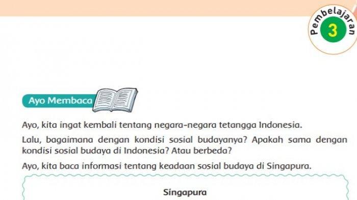 Kunci Jawaban Tema 8 Kelas 6 Sd Halaman 71 72 73 74 75 Buku Tematik Pembelajaran 3 Tribunnews Com Mobile