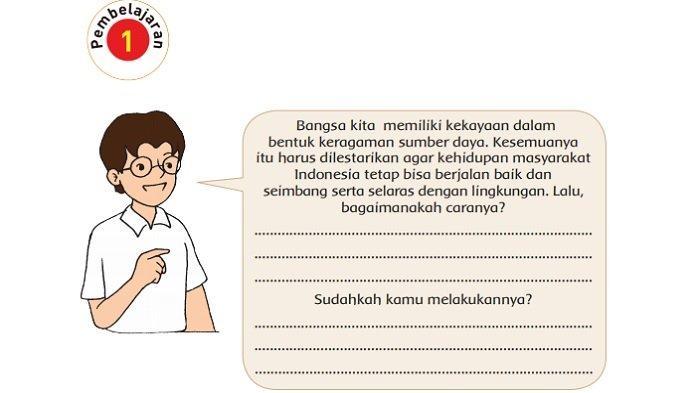 Kunci Jawaban Tema 9 Kelas 4 SD Halaman 102, 103, 104, 107, 108, 112 dan 113