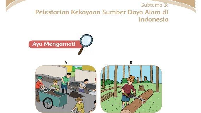 Kunci Jawaban Tema 9 Kelas 4 SD Halaman 146, 148, 149, dan 150 Subtema 3 Pembelajaran 6