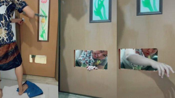 VIRAL TikTok Ibu Terkunci di Kamar Mandi, Si Anak Malah Merekam: 'Antara Kasihan dan Senang'