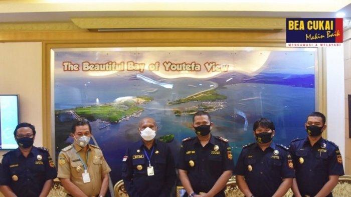 Bea Cukai Lakukan Kunjungan ke Kantor Walikota Jayapura Bahas Upaya Memajukan Perekonomian