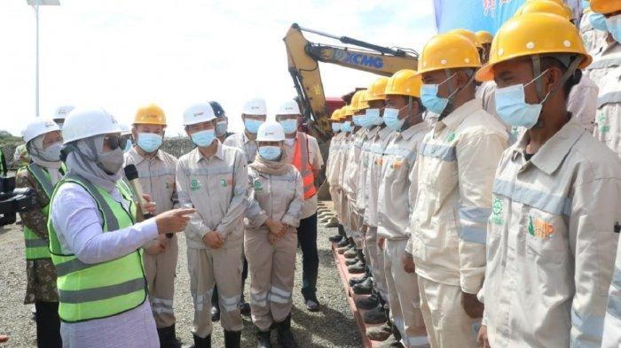 Kementerian Tenaga Kerja Teken Kerja Sama Kompetensi SDM dengan PT IWIP di Halmahera Tengah