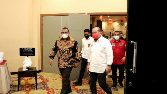 PON Hingga Pembangunan Dibahas Ketua DPD RI dan Gubernur Papua Saat Ramah Tamah